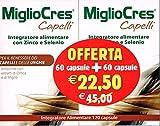 F&F 53070 MiglioCres Linea Capelli, Integratore...