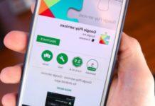 come aggiornare Google play services
